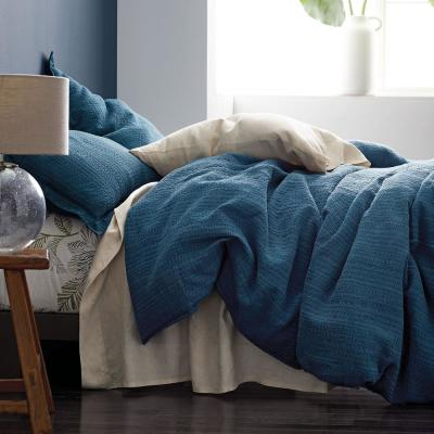 Interwoven Cotton Blend Duvet Cover