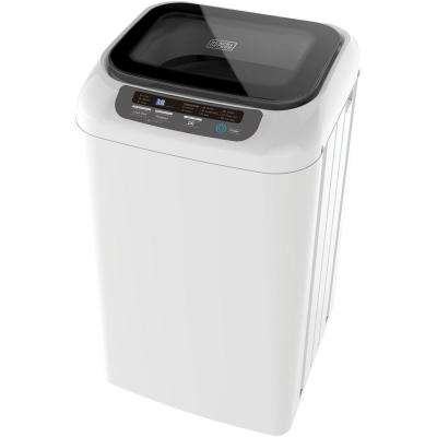 0.85 cu. ft. Portable Top Load Washing Machine in White