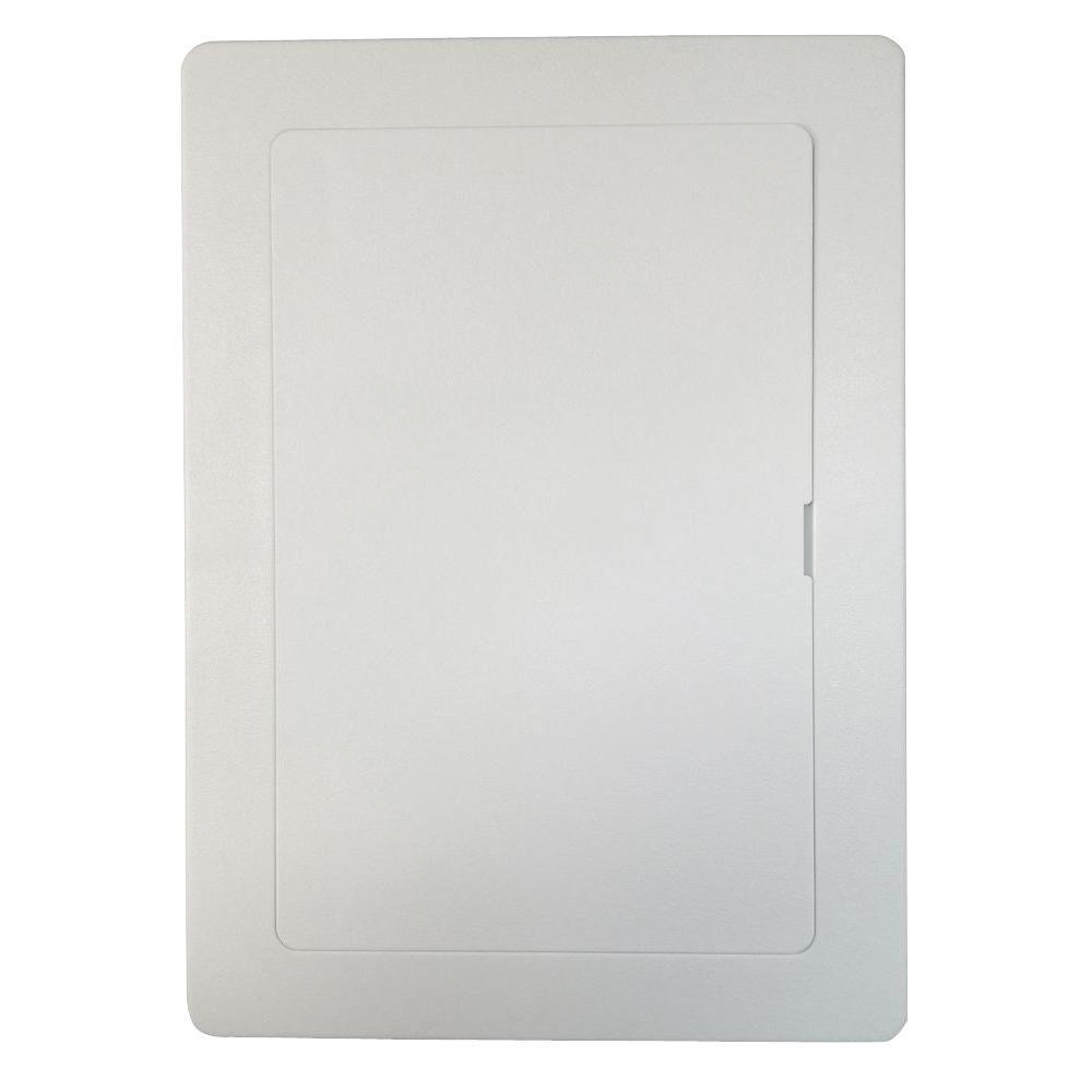 6 in. x 9 in. Plastic White Wall or Ceiling Access