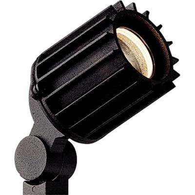 Low-Voltage 50-Watt Black Landscape Spotlight