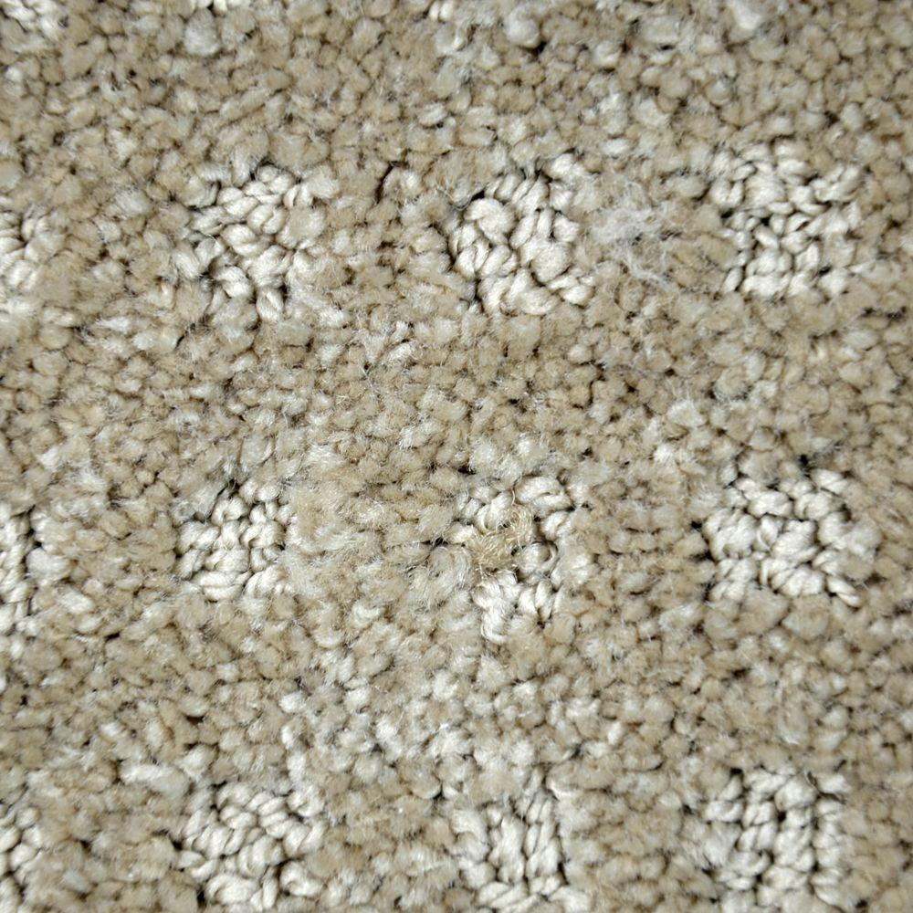 Carpet Sample - Fancy Flair - Color Rockmart Pattern 8 in.