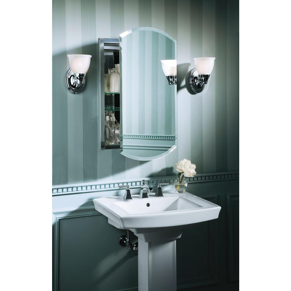 Forte Transitional 1-Light Polished Chrome Wall Sconce 650531289124 ...