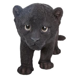 Hi Line Gift Black Panther Cub Statue 87696 B The Home Depot