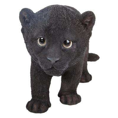 Black Panther Cub Statue