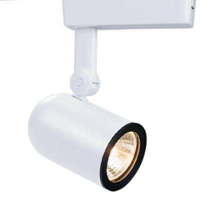 Low-Voltage White Body Lazer Roundback Cylinder Track Lighting Head Electronic Transformer