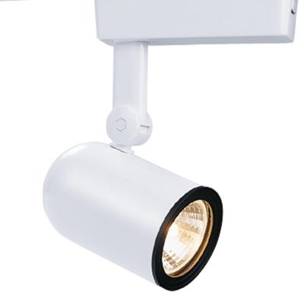 Low-Voltage White Body Lazer Roundback Cylinder Track Lighting Head Electronic Transformer