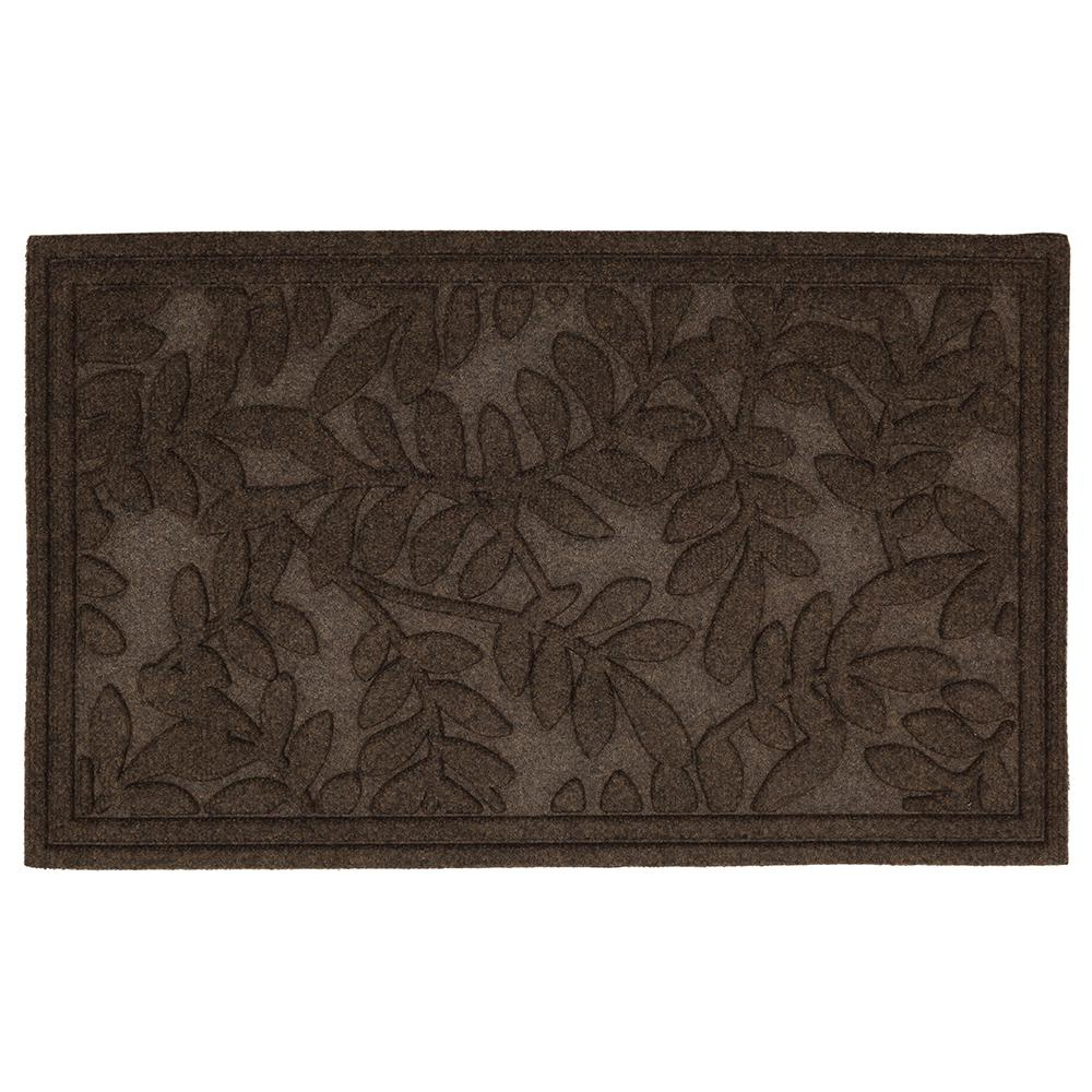 Mohawk Home Monaco Leaves 2 Ft X 3 Ft Outdoor Door Mat 469405