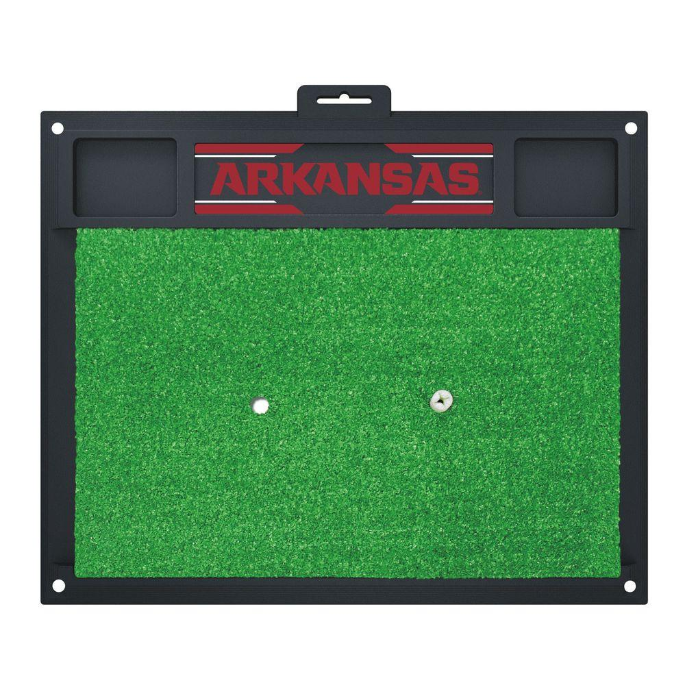 NCAA University of Arkansas 17 in. x 20 in. Golf Hitting
