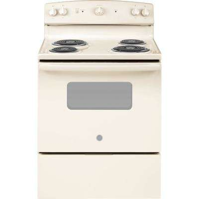 30 in. 5.0 cu. ft. Electric Range in Bisque