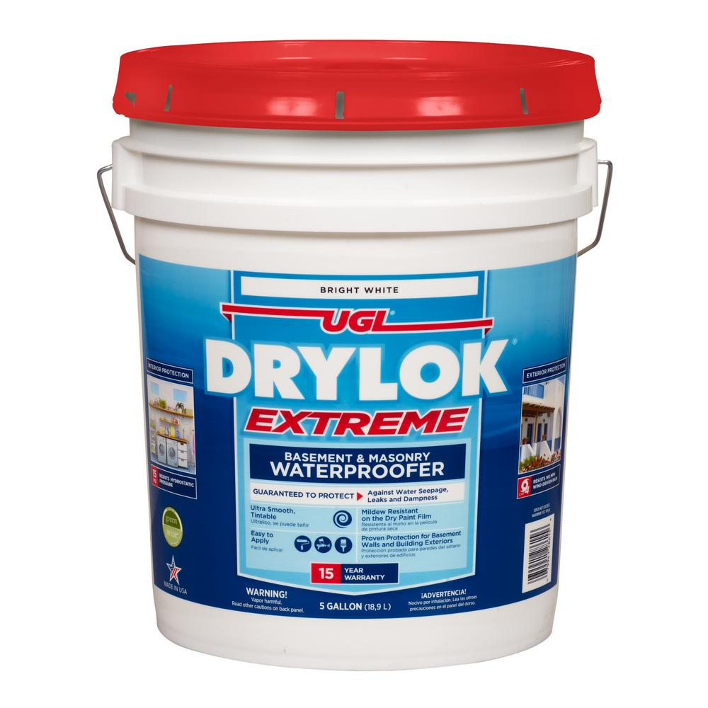 DRYLOK 5 Gal. White Extreme Waterproofer