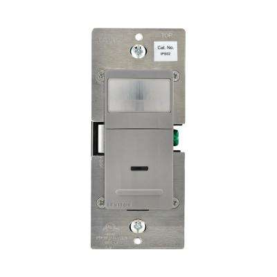180° Pir-Incandescent-CFL-LED Occupancy Detector, Gray