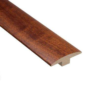 Mahogany Natural 3/8 in. Thick x 2 in. Wide x 78 in. Length Hardwood T-Molding