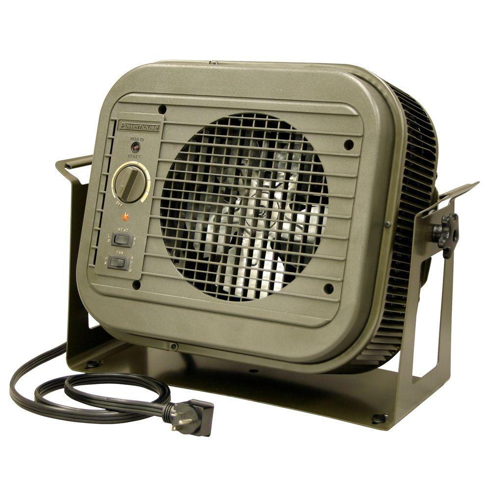 4,000-Watt Electric Convection Portable Heater
