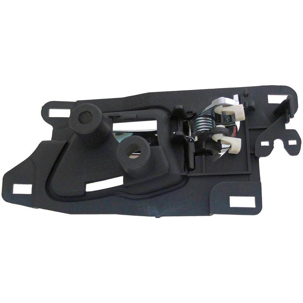 HELP Interior Door Handle Front Right Chrome Lever/Black