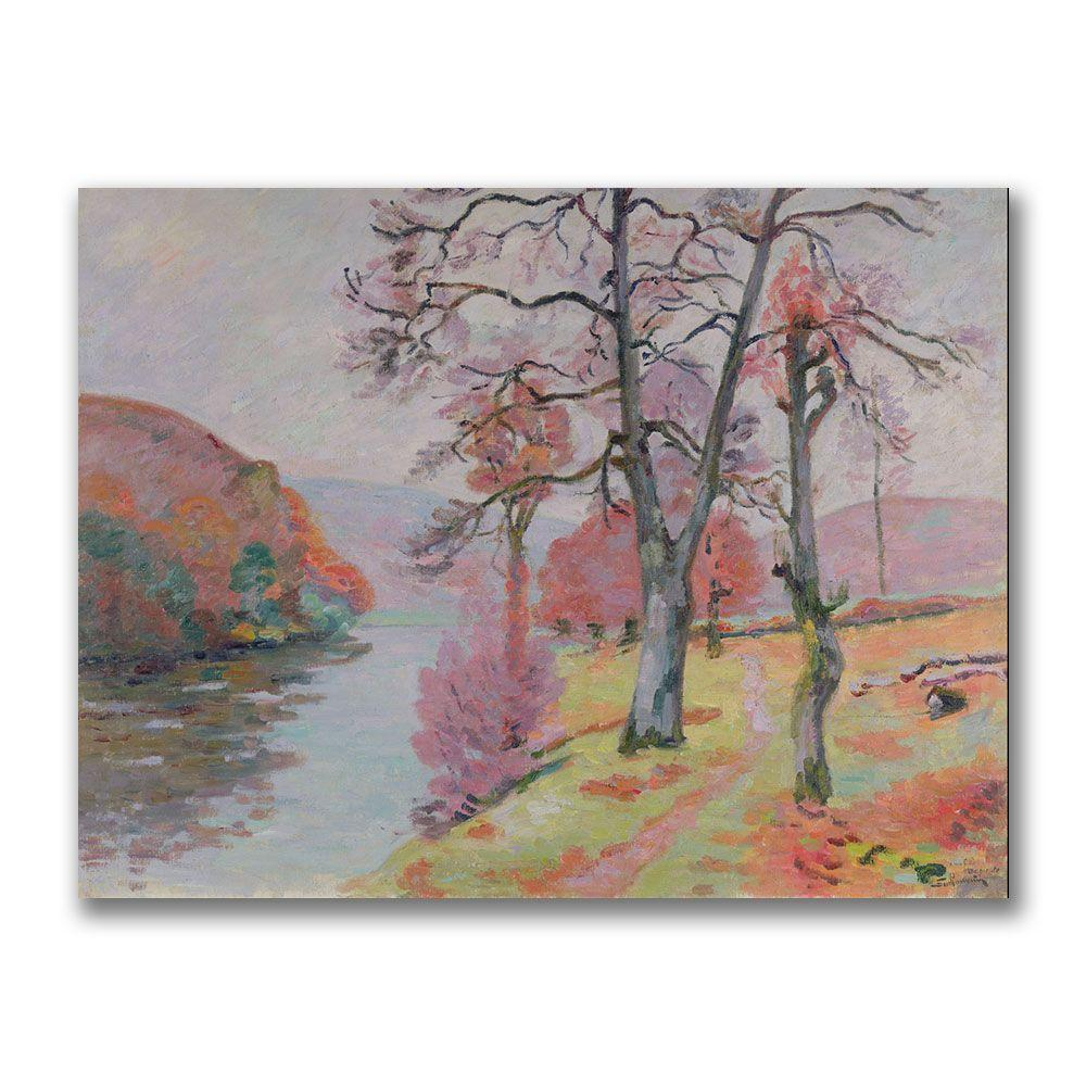 24 in. x 32 in. Crozant, Brittany, 1912 Canvas Art