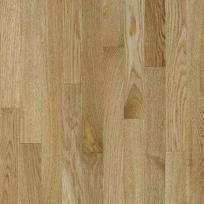 Natural Reflections Oak Desert Natural 5/16 in. T x 2-1/4 in. W x Varying L Solid Hardwood Flooring (40 sq. ft. / case)