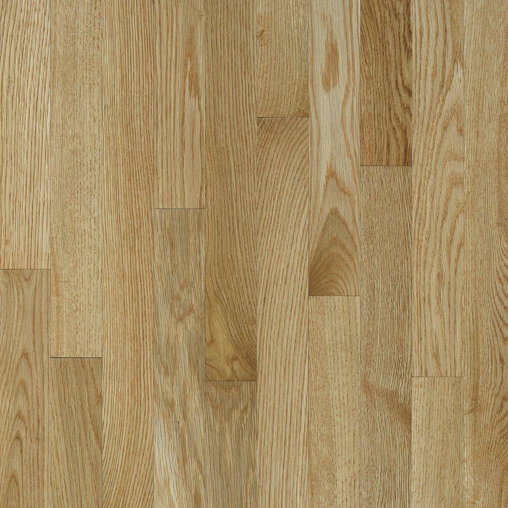 Natural Reflections Oak Desert Natural 5/16 in. T x 2-1/4 in. W x Random L Solid Hardwood Flooring (40 sq. ft. / case)