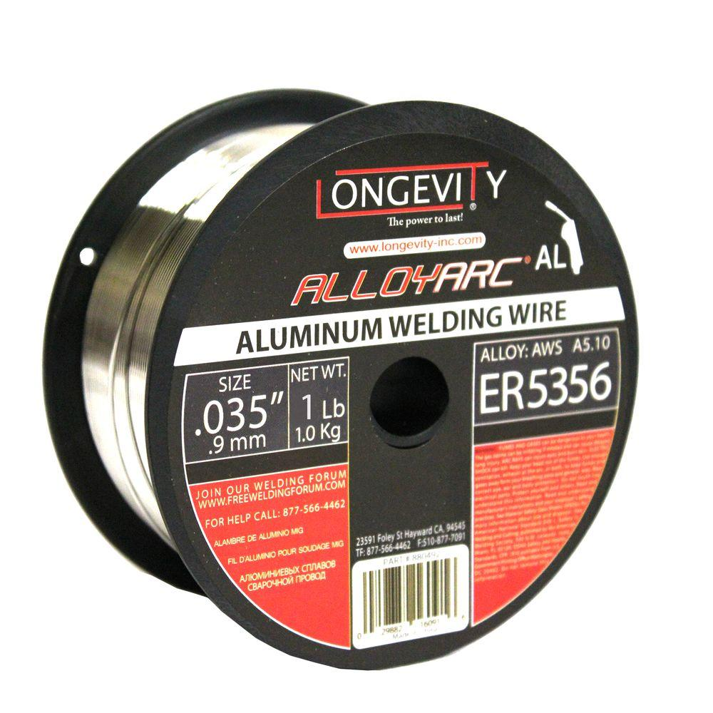 Longevity 5356 0.035 in. Alloy Arc MIG 1 lb. Wire