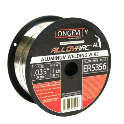 5356 0.035 in. Alloy Arc MIG 1 lb. Wire