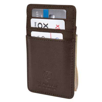 RFID Blocking Money Clip Wallet