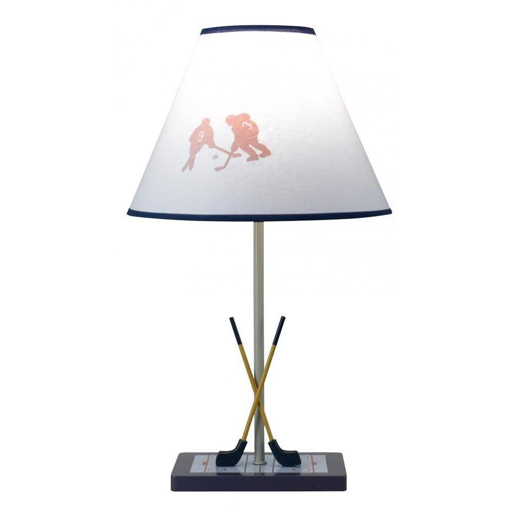 CAL Lighting Cooper 21 in. Hockey Incandescent Novelty Lamp