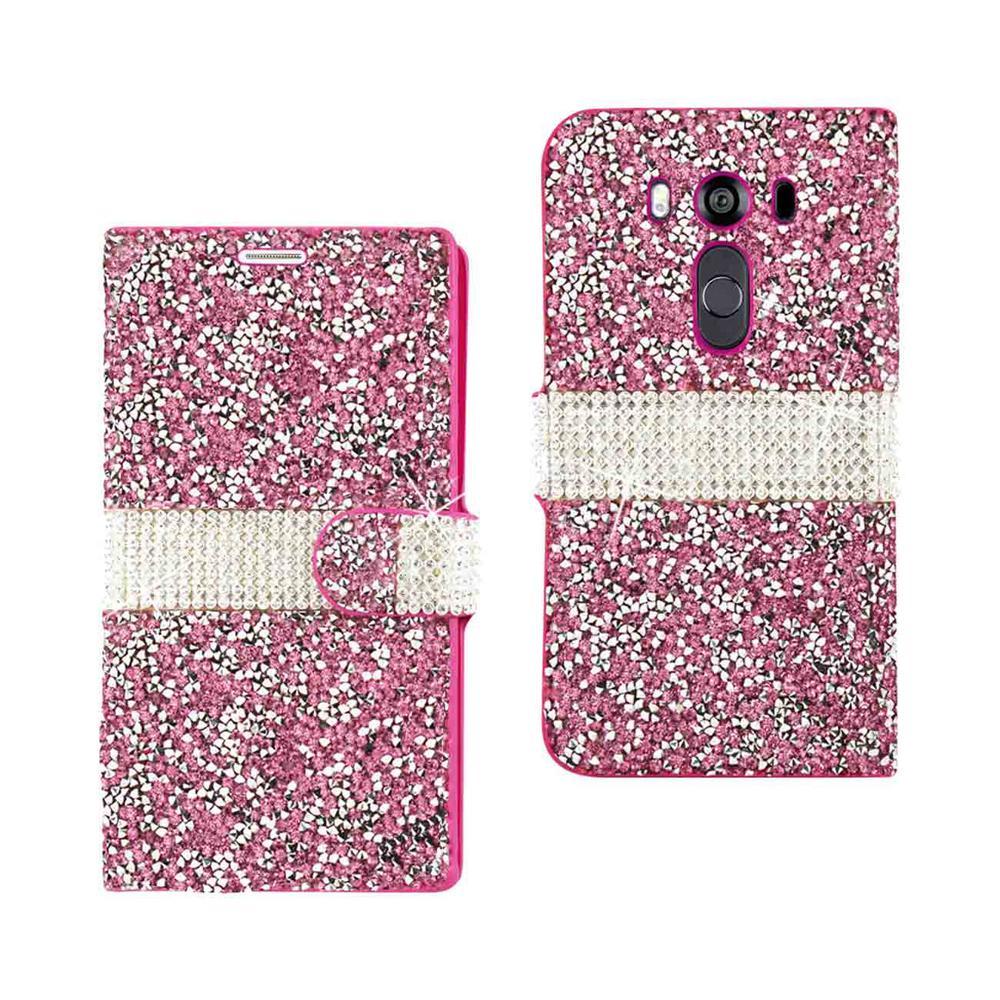 LG V10 Folio Case in Pink
