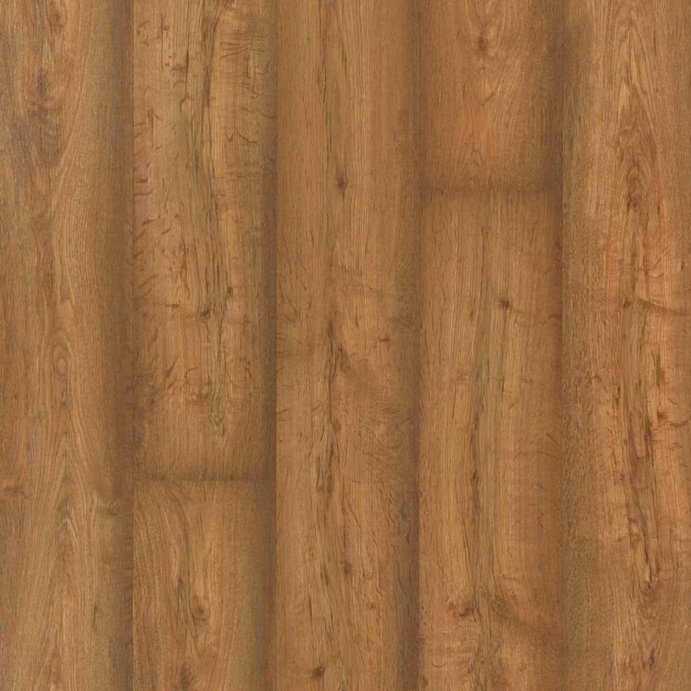 Burnished Caramel Oak Laminate Flooring - 5 in. x 7 in.