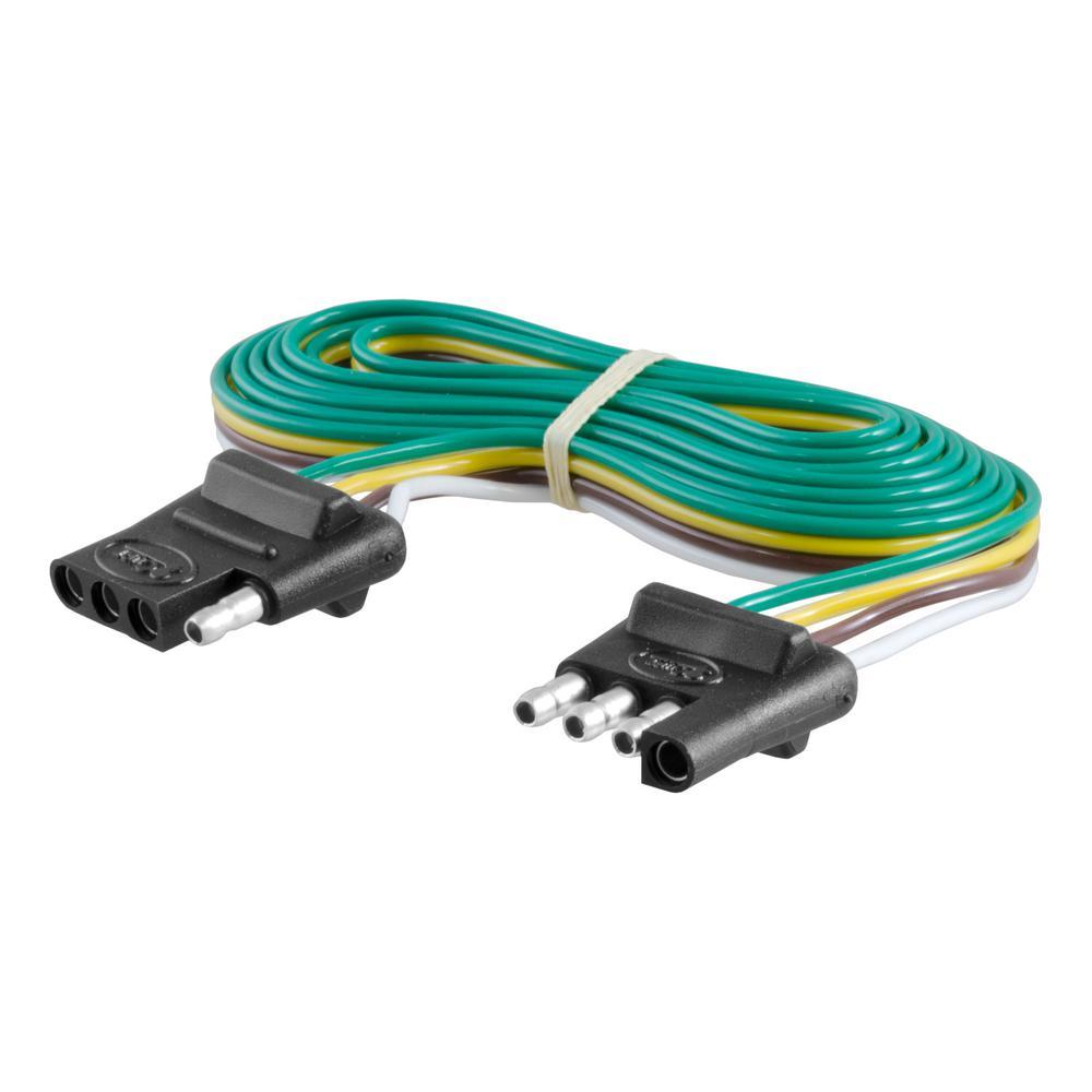 4-way flat connector plug & socket with 72