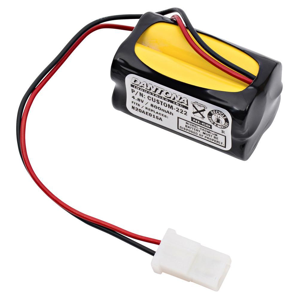 Ultralast Green Dantona 4 8 Volt 800 Mah Ni Cd Battery For Prescolite Edcenrb Emergency Lighting Custom 222 The
