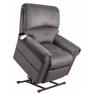Northwood Polo Club Power Recliner Lift Chair in Grey