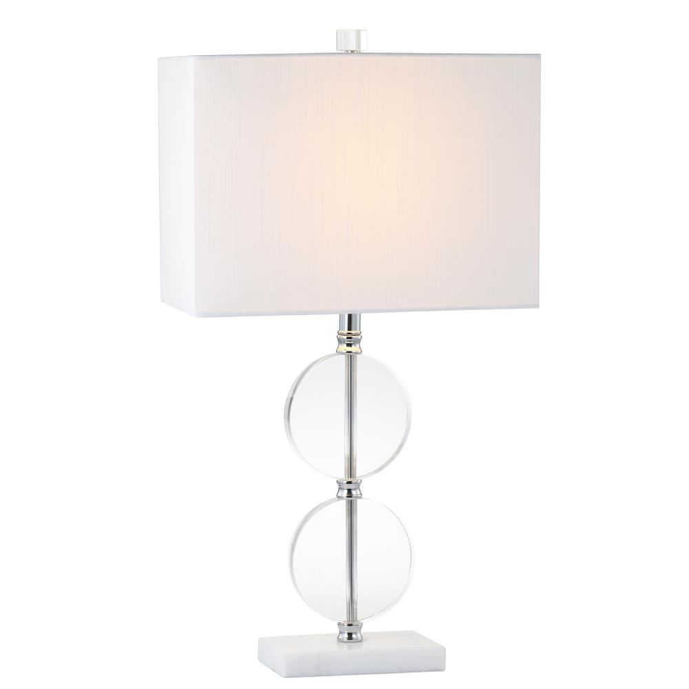 Ge 3 Way 8 Ft Clear Cord With 1 Art Lamp Kit 50960 The Home Depot Wiring Diagram 6 Floor White Crystal Marble Led Table