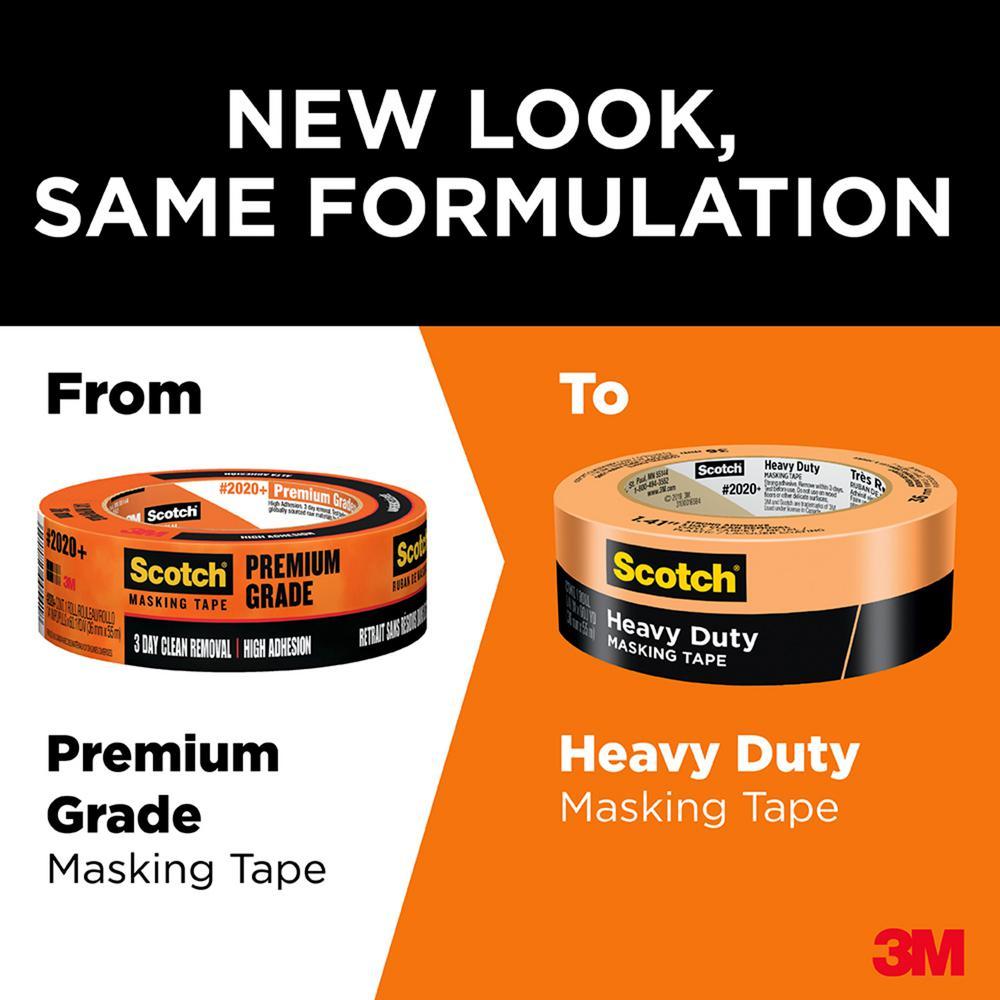 3m 2020-1 1/2 general purpose masking tape