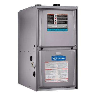 70,000 BTU 95% AFUE Downflow Multi-Speed Low NOX Gas Furnace with 17.5 in. Cabinet