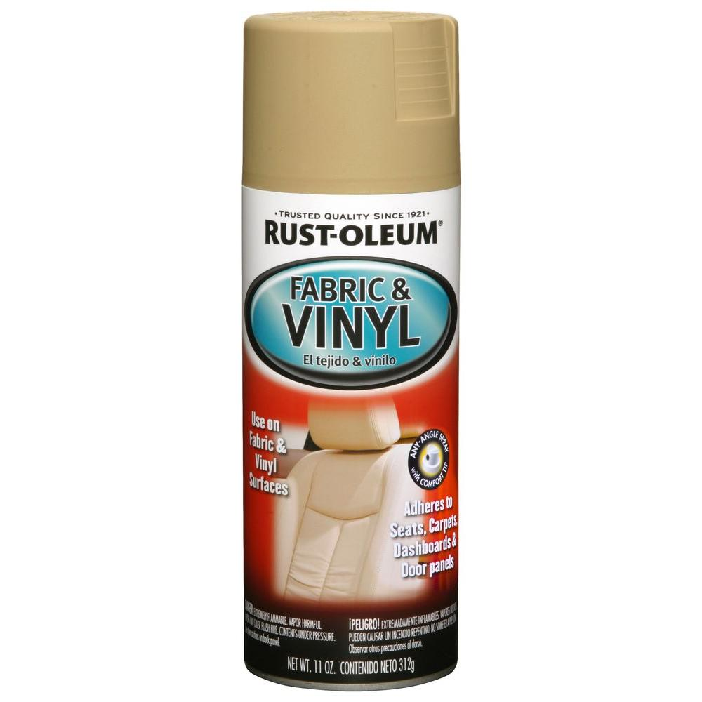 Rust-Oleum Automotive 11 oz. Sand (Brown) Vinyl and Fabri...