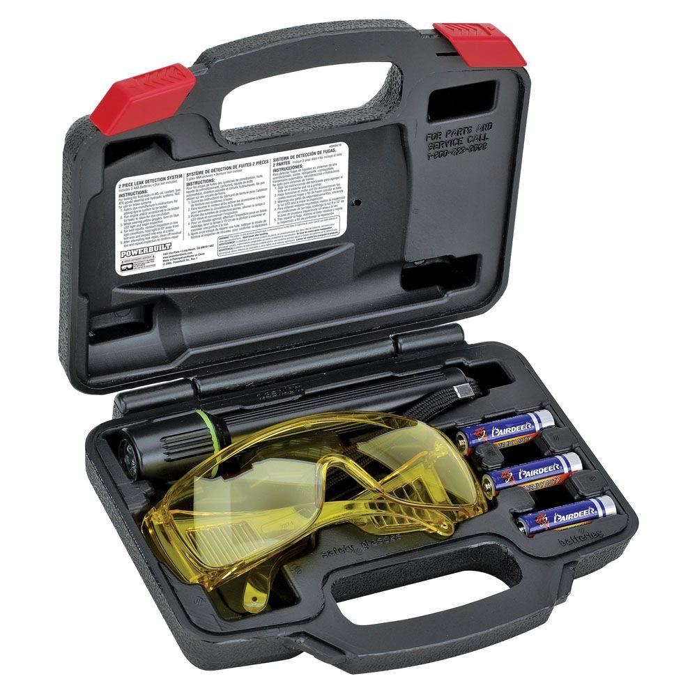 Flourescent Leak Detection Flashlight Kit