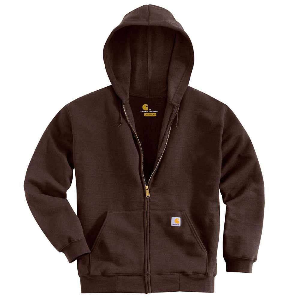Men's Regular Small Dark Brown Cotton/Polyester  Sweats