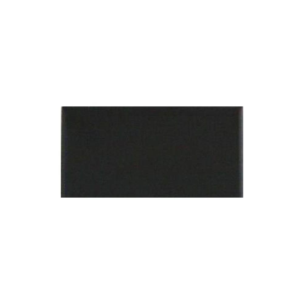 Daltile SemiGloss Black In X In Ceramic Wall Tile - Daltile nashville tn