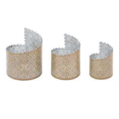 Metal Luminaries (Set of 3)