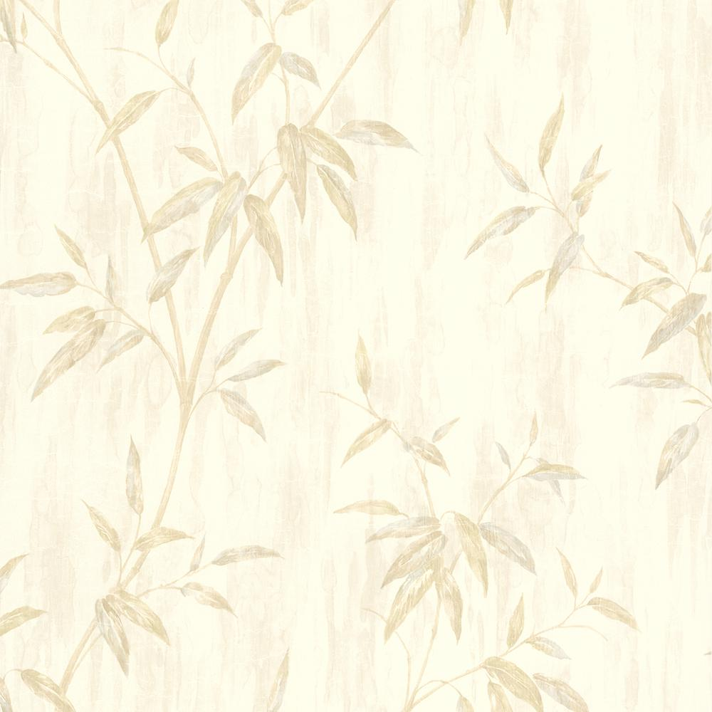 brewster julianne taupe magnolia trail wallpaper sample