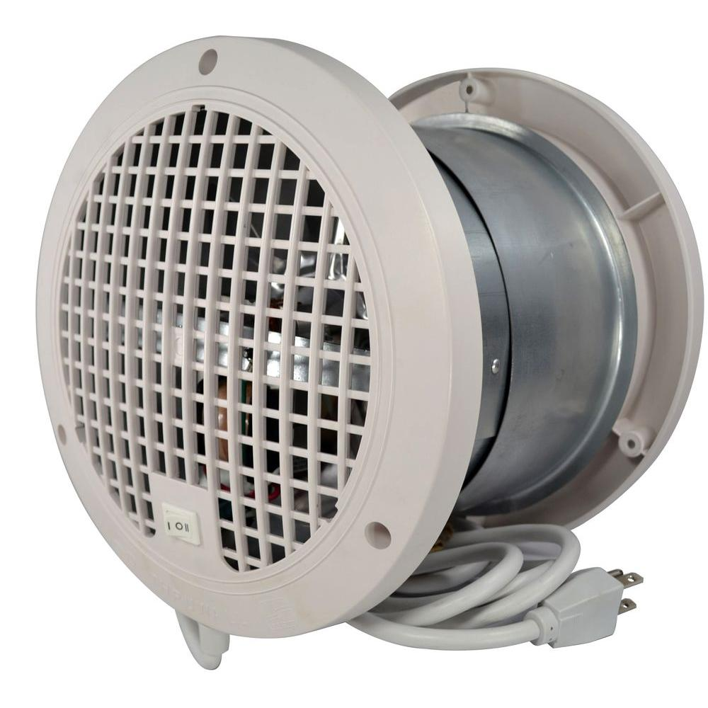Small Ventilation Fans : Thruwall in transfer fan tw the home depot