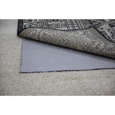 4 ft. x 6 ft. All Pet Grey Felted Reversible Pet Proof Rug Pad