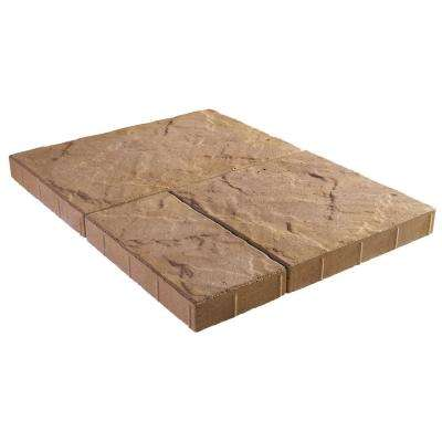 Panorama Supra 3-pc 15.75 in. x 15.75 in. x 2.25 in. Three Tone Brown Concrete Paver (60 Pcs. / 103 Sq. ft. / Pallet)