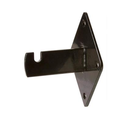 3-3/4 in. Black Wall Bracket for Gridwall (Pack of 96)