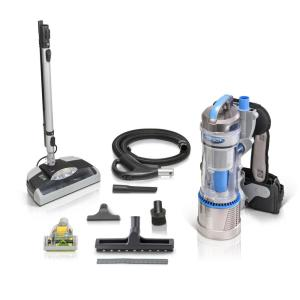 Prolux 2.0 Bagless Backpack Vacuum with Electric Power Nozzle for Carpet Cleaning by Prolux