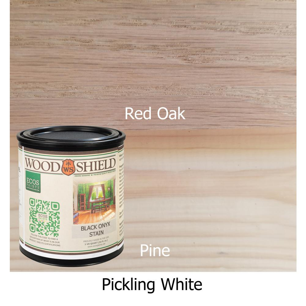 1 Qt Pickling White Woodshield Interior Stain Pickling Qt The