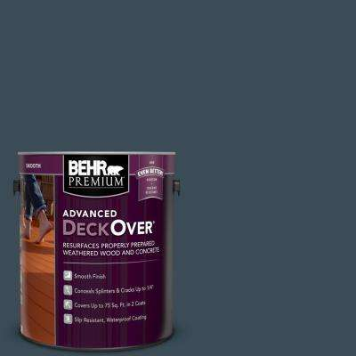 1 gal. #SC-101 Atlantic Smooth Solid Color Exterior Wood and Concrete Coating