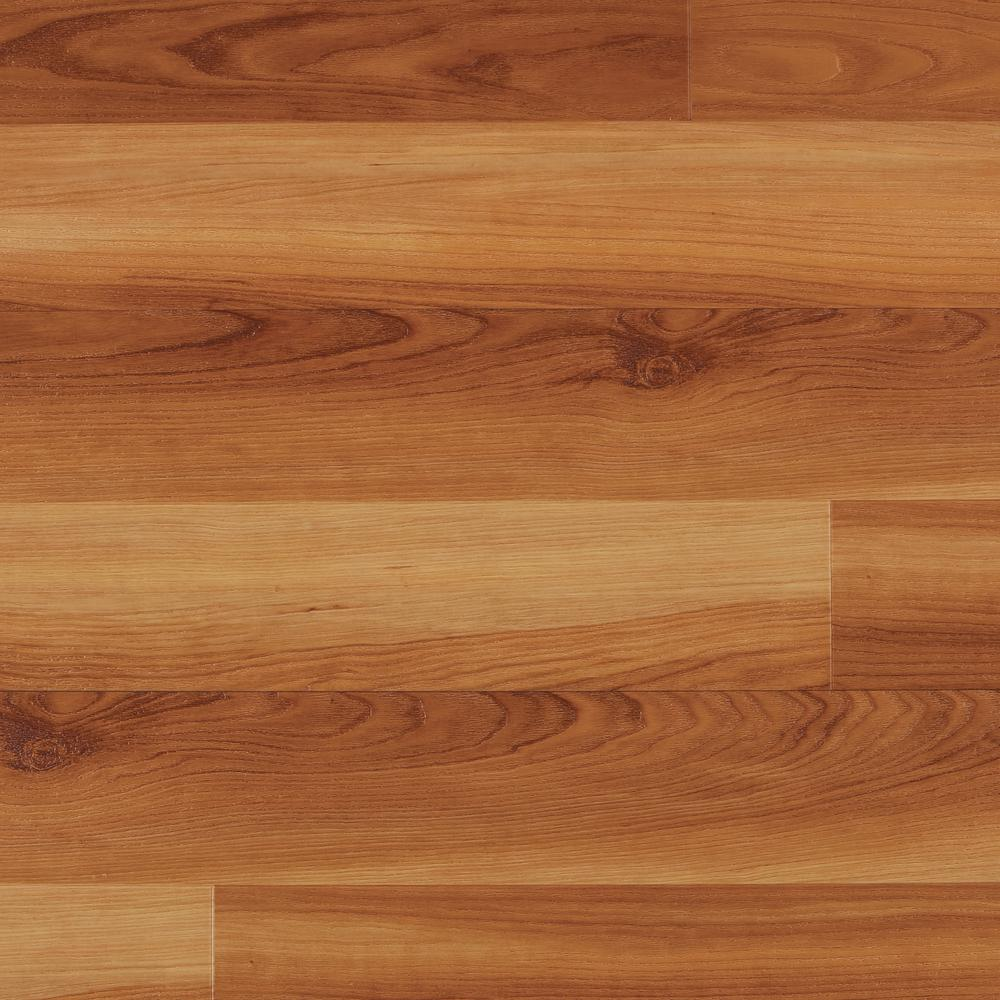 Home decorators collection warm cherry 7 5 in x 47 6 in for Hardwood plank flooring