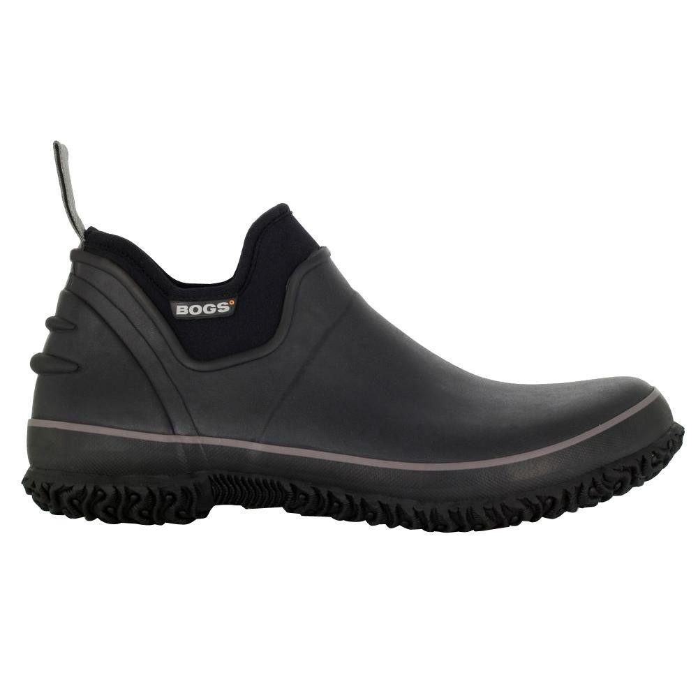 BOGS Men's Urban Farmer Slip Resistant Slip On Shoes Soft Toe Black Size 9(M)