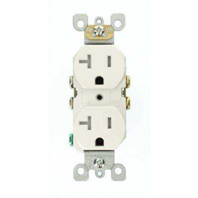 20 amp electrical outlets receptacles wiring devices light 20 amp residential grade self grounding tamper resistant duplex outlet