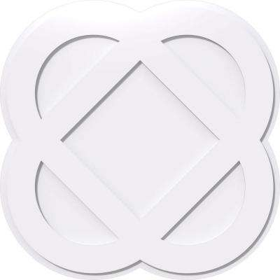1 in. P X 8 in. C X 20 in. OD Charlotte Architectural Grade PVC Contemporary Ceiling Medallion